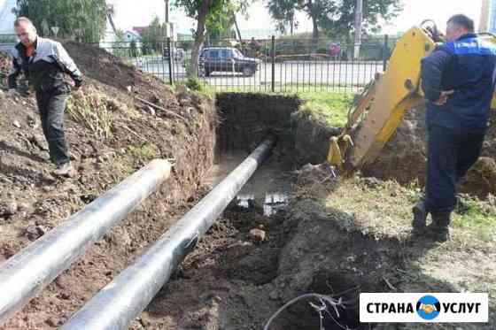 Прокол под (дорогой) дорожным покрытием Павловская