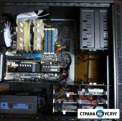 Ремонт и обслуживание компьютеров и ноутбуков Пиндуши