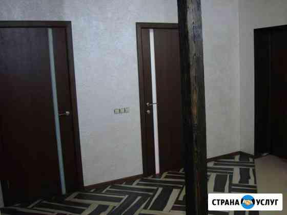 Установка дверей, любые виды отделки Абакан