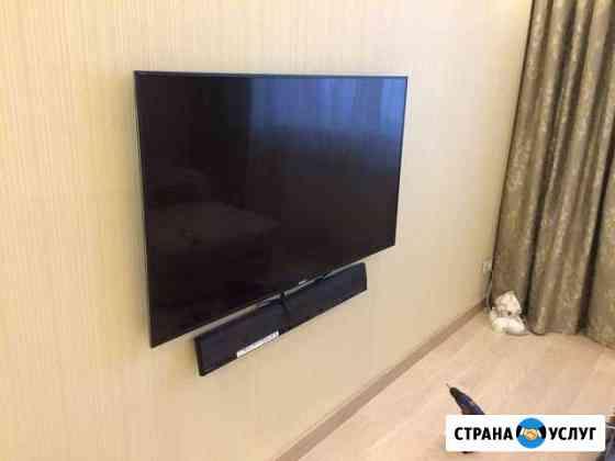 Навес телевизора на стену (кронштейн) Набережные Челны