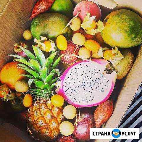 Доставка спелых экзотических фруктов из Тайланда Курган
