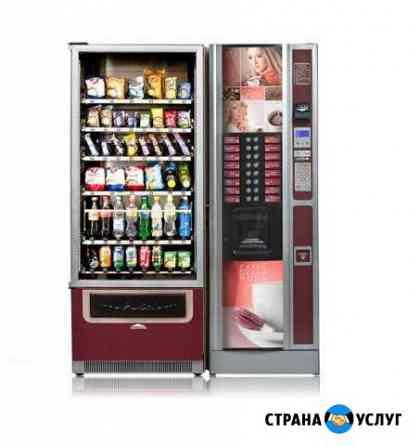 Кофейный и снековый автомат Владимир