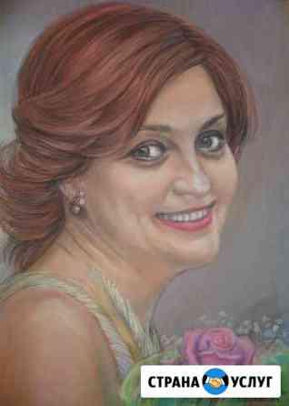 Художественный портрет по фото Саранск
