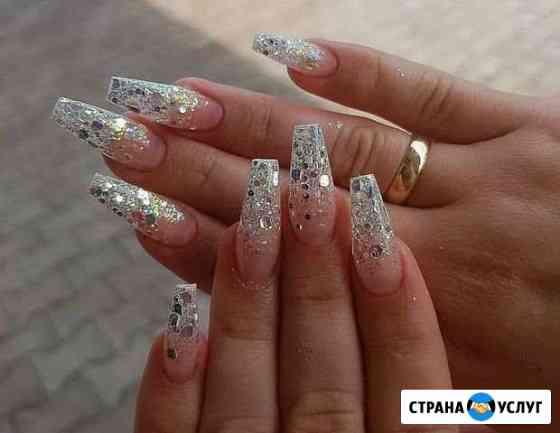 Маникюр, педикюр, наращивание ногтей, покрытие гел Санкт-Петербург