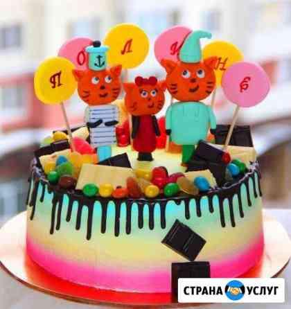 Торты, капкейки, имбирные пряники на заказ для вас Петрозаводск