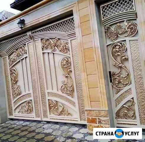 Ворота кованые Грозный