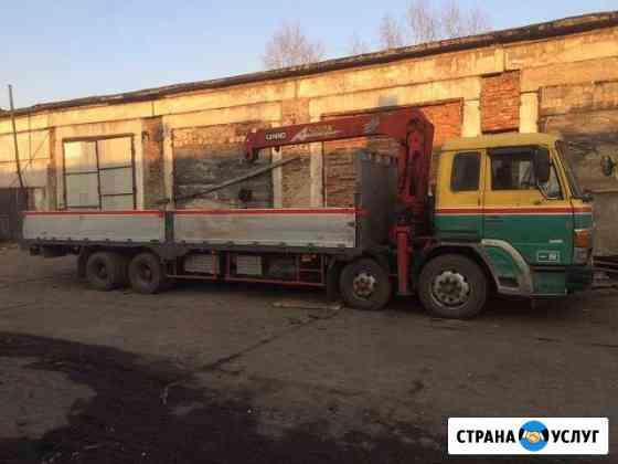 Воровайка, услуги манипулятора 10т и 5т Новокузнецк