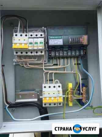 Шкаф учета с сдачей в электрические сети Череповец