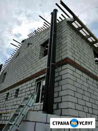 Вентиляция и дымоходы (установка) Коломна
