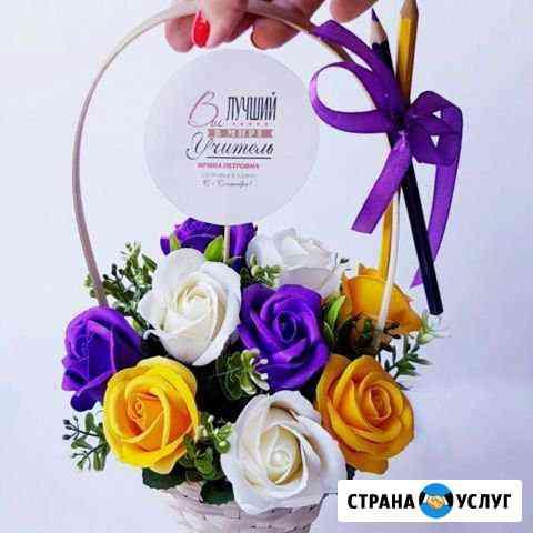 Мыльные Розы ручной работы - новинка 2019 Псков