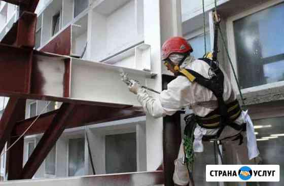 Огнезащитная обработка металлоконструкции Грозный