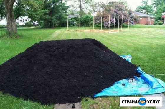 Торф почвогрунт чернозём перегной Кольчугино