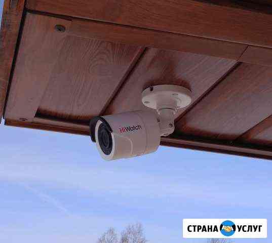 Установка систем видеонаблюдения Томск
