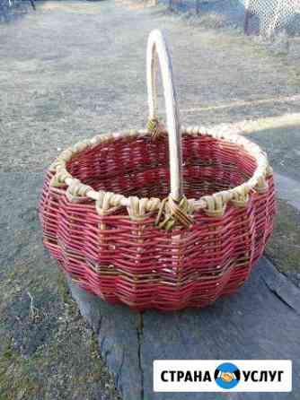 Корзины плетеные ручной работы на заказ Абакан