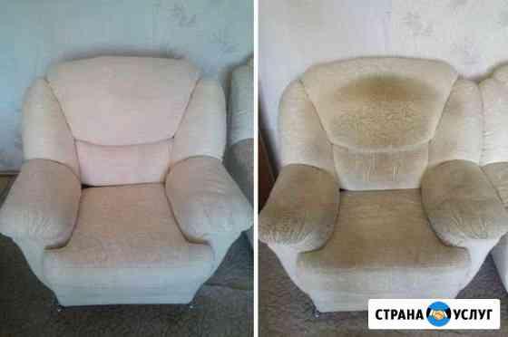 Химчистка мягкой мебели Краснодар