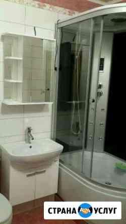 Установка, Ремонт душевых кабин и ванн. запчасти Омск