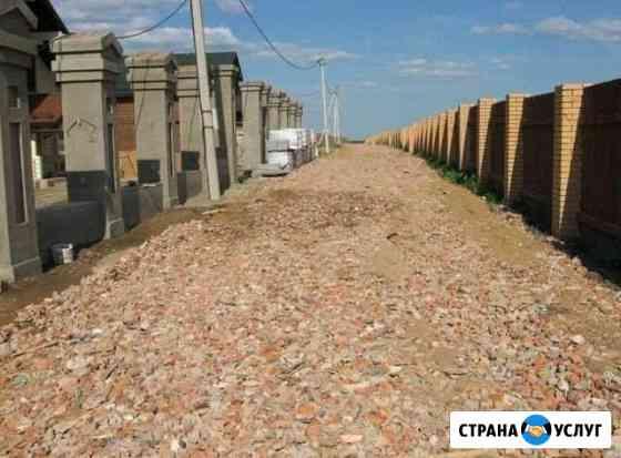 Устройство дорог, площадок Егорьевск