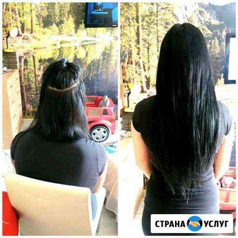 Наращивание волос Ярославль
