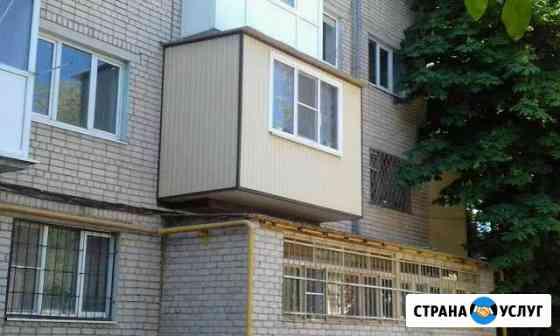 Балконы и лоджии. Расширение на металло каркасе, о Черкесск