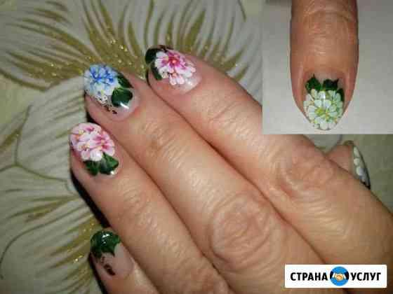Наращивание ногтей,коррекция ногтей,педикюр Иваново