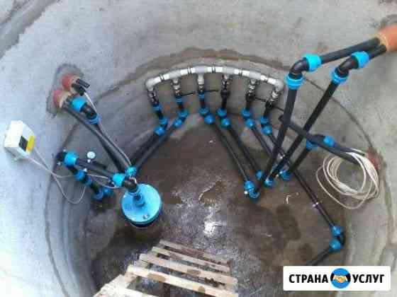 Обустройство скважин, монтаж насосов Липецк