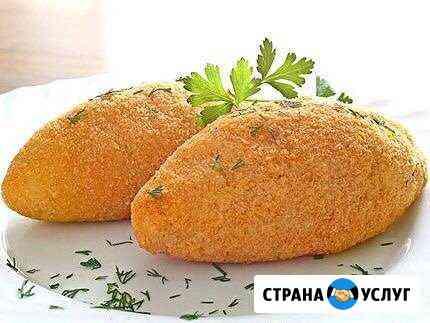 Котлеты по-киевски, вареники, пельмени Черкесск
