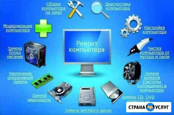 Ремонт компьютеров и ноутбуков Октябрьское