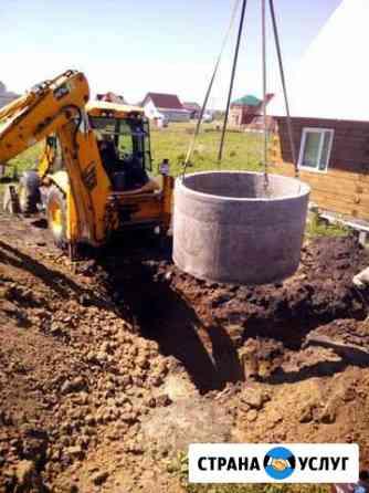 Канализация, выгребные ямы, водопровод под ключ Барнаул
