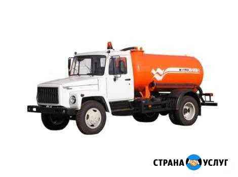 Ассенизаторские услуги Доставка воды Средняя Ахтуба