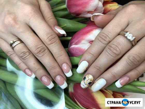 Наращивание ногтей/гель-лак/укрепление/маникюр Иркутск