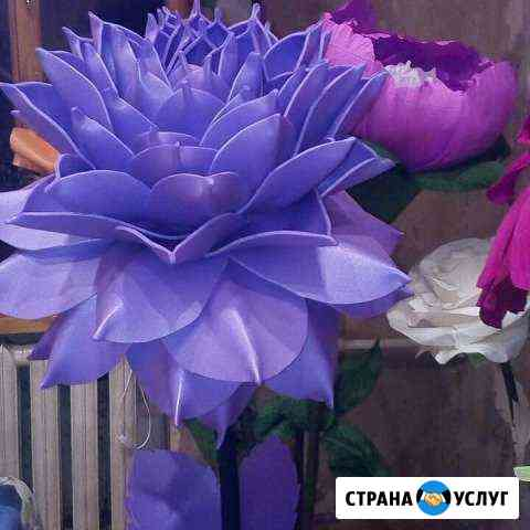 Изготовление ростовых цветов и светильников Смоленск