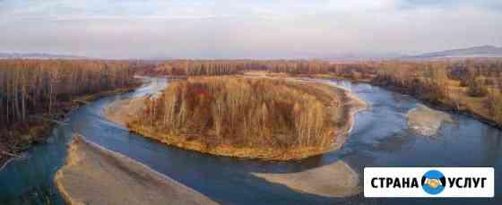 Аэросъемка фото и видеосъемка с квадрокоптера 4К Абакан
