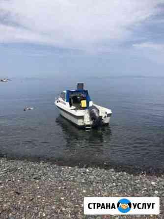 Аренда катера (Доставка на Острова, отдых, рыбалка Владивосток