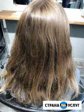 Кератиновое выпрямление волос, Ботокс Томск