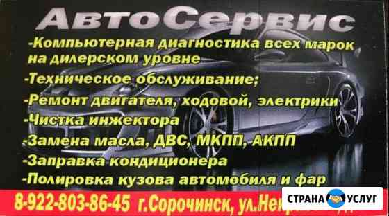Предоставляю спектр своих услуг Сорочинск