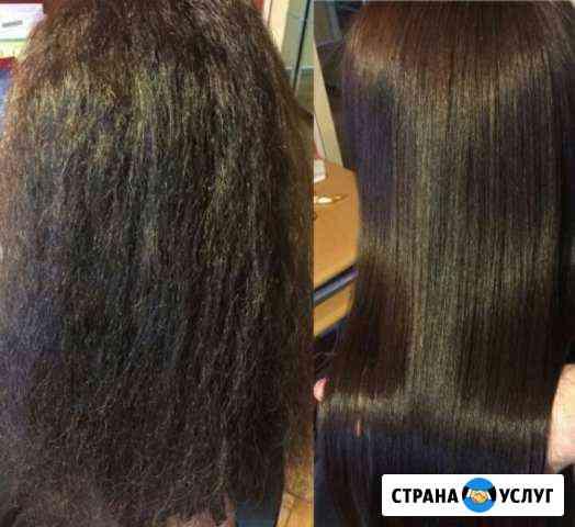 Кератиновое выпрямление волос, архитектура бровей Евпатория