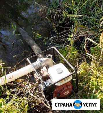Аренда помпы (мотопомпы) Белгород