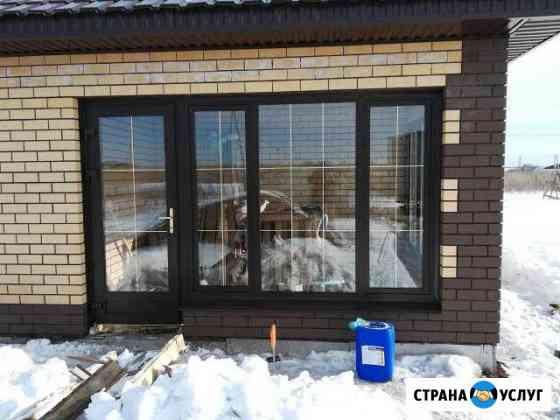 Пластиковые окна Ремонт окон откосы Уфа
