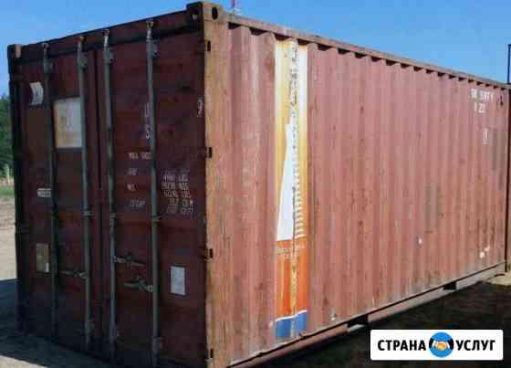 Аренда контейнера под склад Старый Оскол