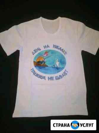 Печать на футболках, кружках, тарелках. Открытки и Тамбов