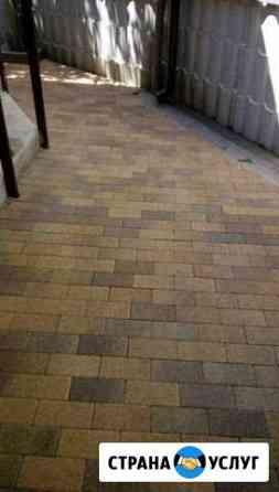 Укладка тротуарной плитки качество и быстро Черкесск