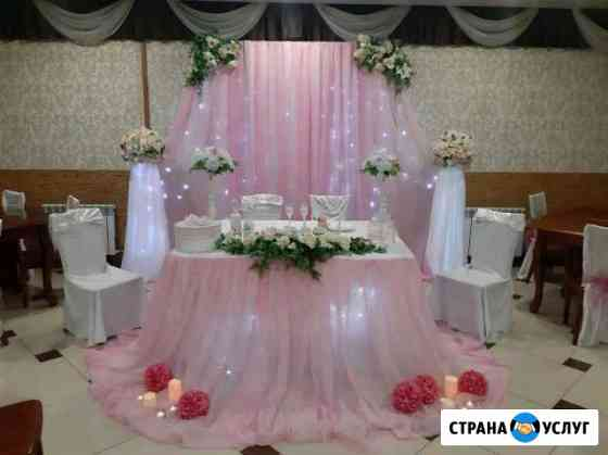 Оформление свадебных залов и машин Магадан