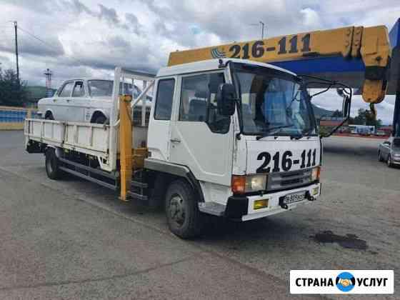 Грузоперевозки- эвакуатор и манипулятор Елизово