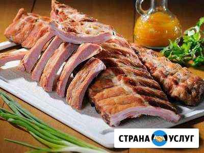 Деревенское копчение и соление мяса Марьяновка