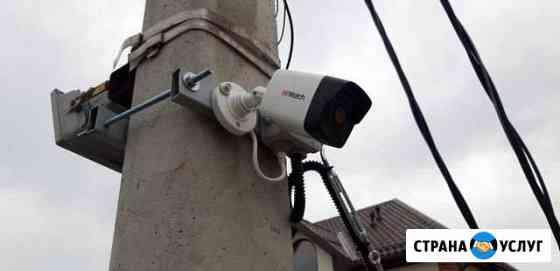 Монтаж и ремонт систем видеонаблюдения,домофонов,о Новороссийск