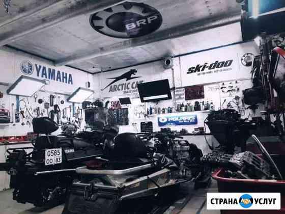 Ремонт двигателей (снегоходы, плм, квадроциклы) Нарьян-Мар
