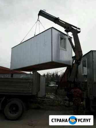 Аренда блок-контейнера (бытовки) Киров