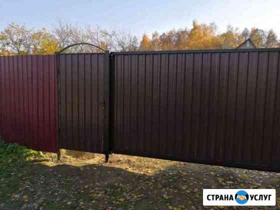 Ворота откатные, автоматика Обнинск