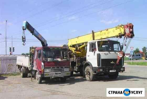 Услуги и аренда манипуляторов, автокранов 16-25т Сыктывкар