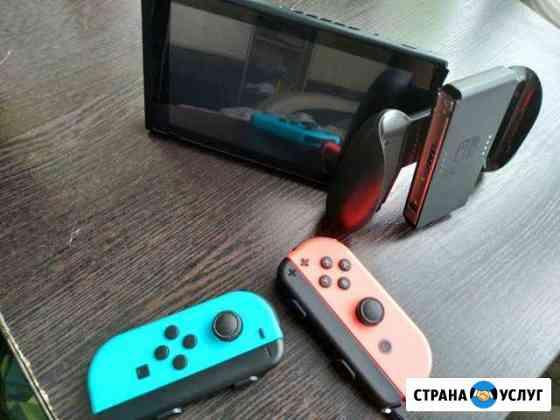 Nintendo Switch(Напрокат) Полярный